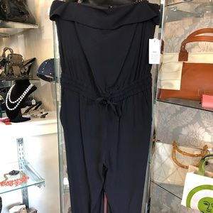A.L.C. BARNEYS NEW YORK Navy Blue Jumpsuit NEW